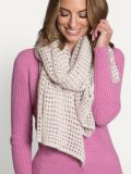 ] Avoca Lace Knit Large Merino Wool Scarf - Merino and Co