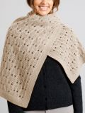 ] Invermay Lace Knit Merino Wool Shawl - Merino and Co