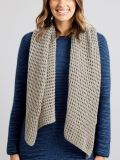] Avoca Open Weave Merino Wool Shawl - Merino and Co
