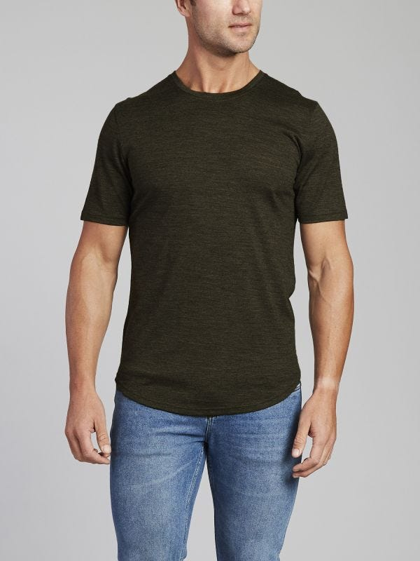 Merino Wool Short Sleeve T-Shirt