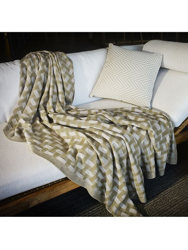 ] Siena Merino Wool Large Throw - Merino and Co