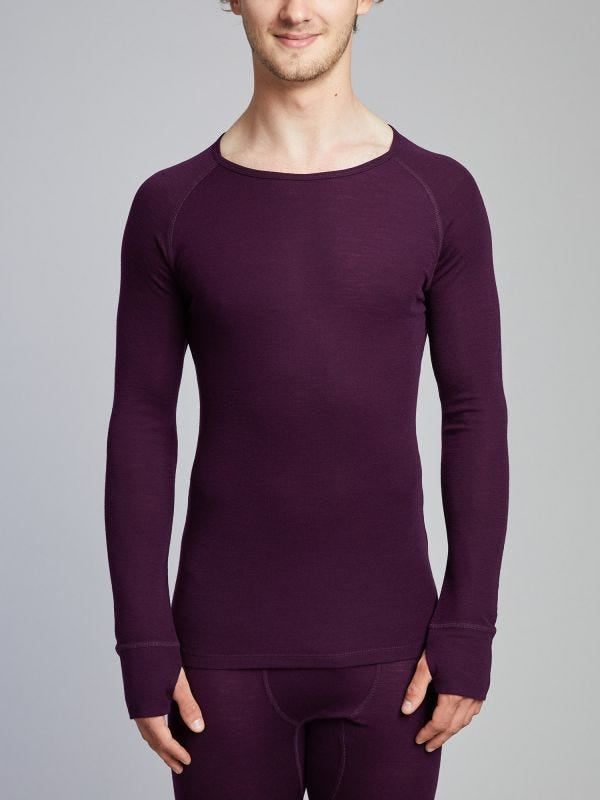 Undergarment Merino Wool Long Sleeve Top