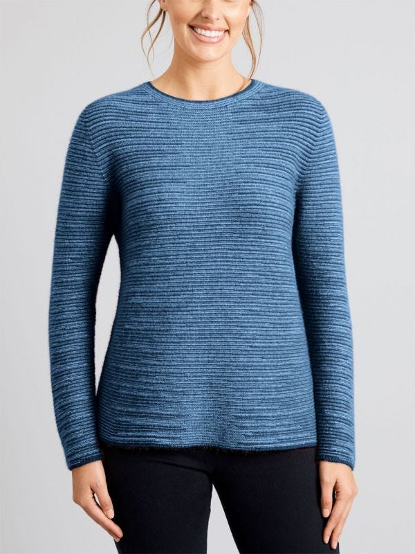 Dalton Shadow Crew Merino Wool Jumper