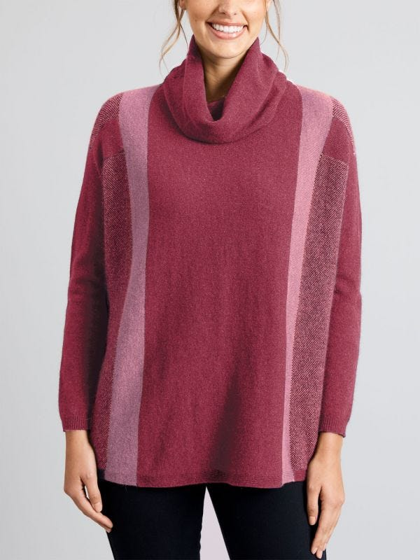 Stonehaven Swing Merino Wool Jumper
