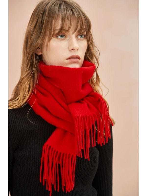 ] The Classic Wool Scarf - Merino and Co