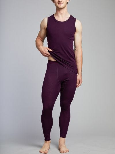 Merino Wool Men's Long Johns