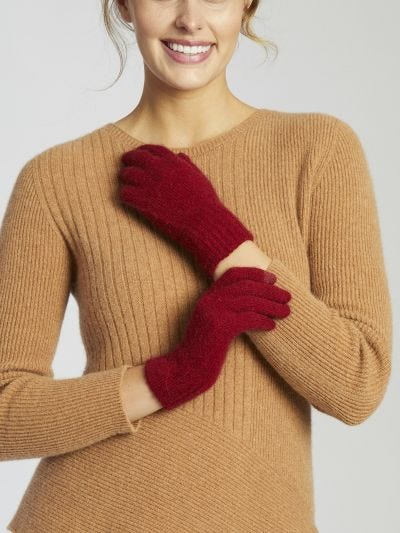 Standard Merino Wool Knitted Gloves