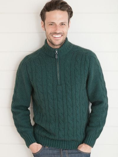 Torquay 1/2 Zip Merino Wool Jumper