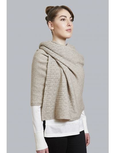 Lemont Merino Wool Lace Wrap